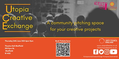 Utopia Creative Exchange: A Community Pitching Space tickets