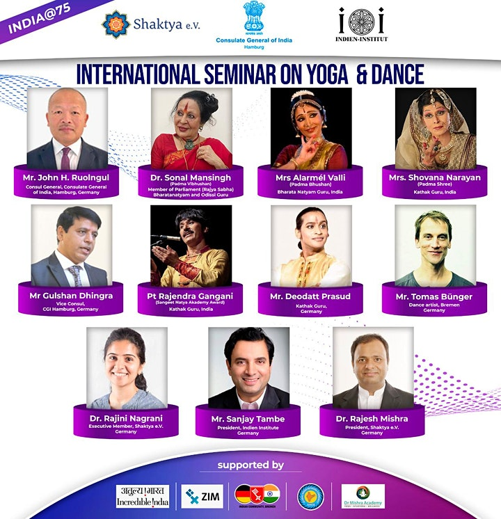 International Seminar on Yoga & Dance image