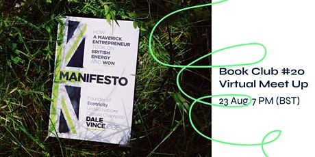 Sustainability Book Club #20 - Manifesto by Dale Vince tickets