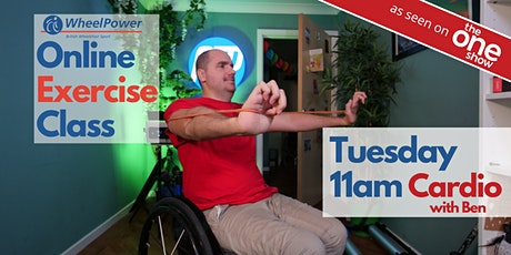 Online Exercise Class with Ben Clark - Tuesday at 11am tickets