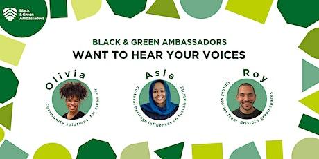 Black & Green Ambassadors - Bristol's Voices tickets