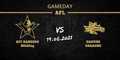 Austrian Football League  - AFC RANGERS vs Danube DRAGONS tickets