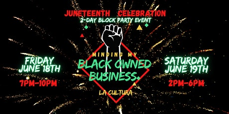 Minding My Own Black Business Block Party tickets