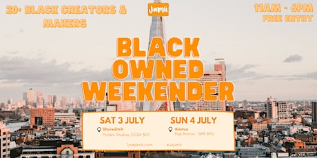 Black-Owned Weekender: Day 1 tickets
