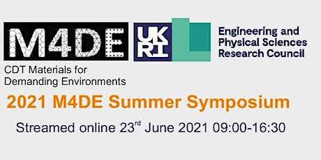 M4DE Summer Symposium 2021 tickets