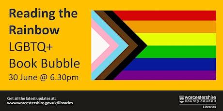 Reading the Rainbow - LGBTQ+ Book Bubble tickets