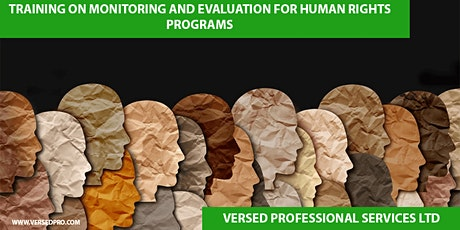 Training on Monitoring & Evaluation for Human Rights Programme tickets