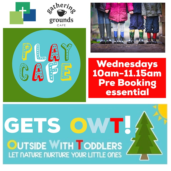 Play Café Gets OWT ( Outside With Toddlers) image