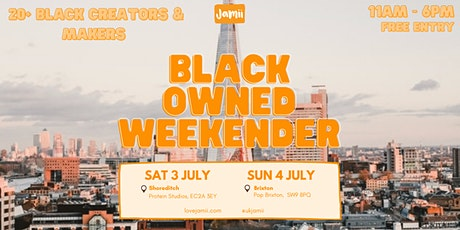Black-Owned Weekender: Day 2 tickets