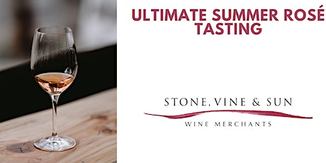Ultimate summer rosés with Love Wine and Stone Vine & Sun - online tasting tickets