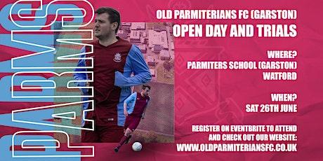 Old Parmiterians (Garston, Watford) Open & Trials Day tickets