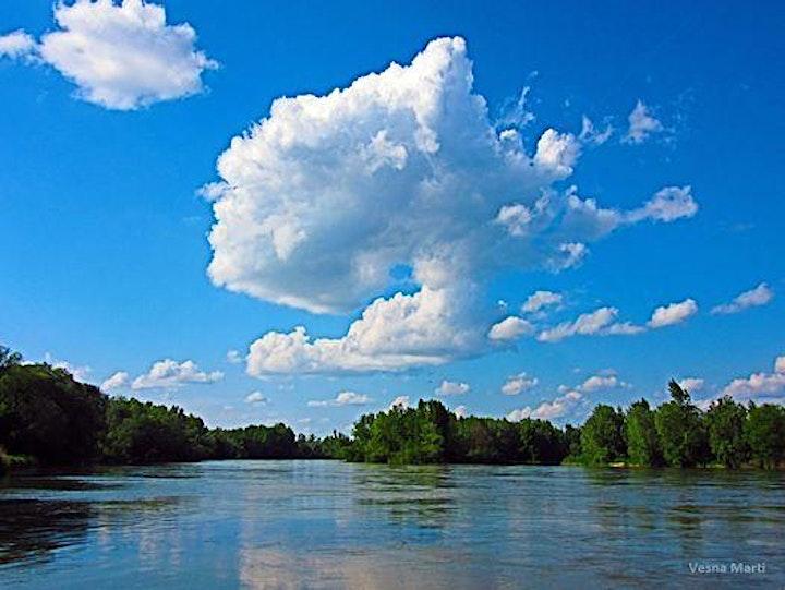 Paint - 'Summer Cumulus Clouds '- Facebook LIVE image