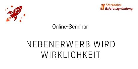 """""""Existenzgründung im Nebenerwerb"""" Teil II - Online-Seminar des CAT tickets"""