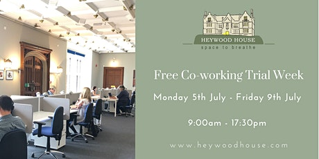 Free Co-working Trial Week tickets