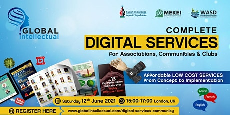 Complete Digital Services for Associations, Communities and Clubs tickets