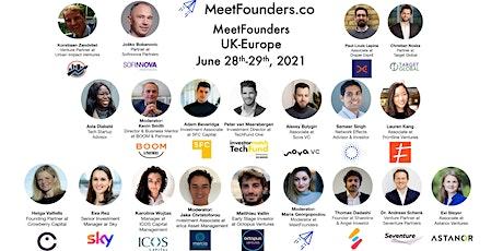 MeetFounders UK-Europe [June 2021] Venture Capital Conference tickets