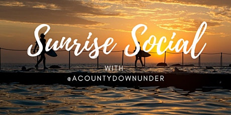Sunrise Social - Washing Bay tickets