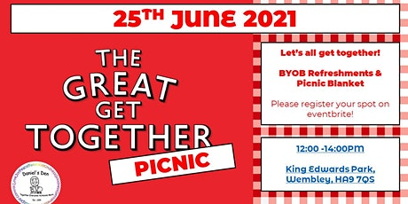 Daniel's Den - Great Get Together Picnic 2021 tickets