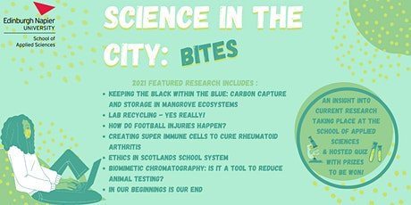 Science In The City: Bites 2021 tickets