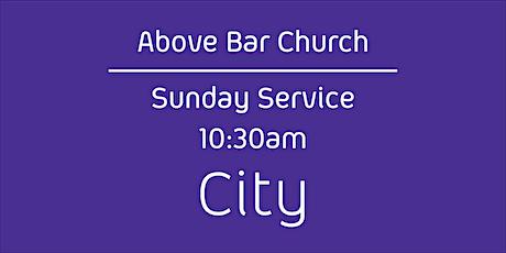Above Bar Church   City -10:30am 20th June 2021 (All Age) tickets