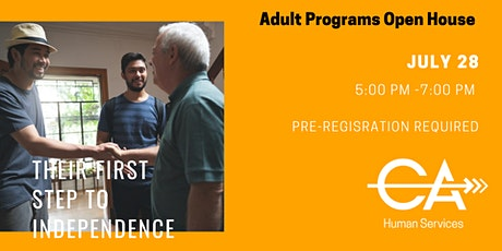 Adult Programs Open House - July 2021 tickets