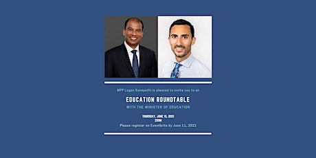 Education Roundtable with the Minister of Education tickets