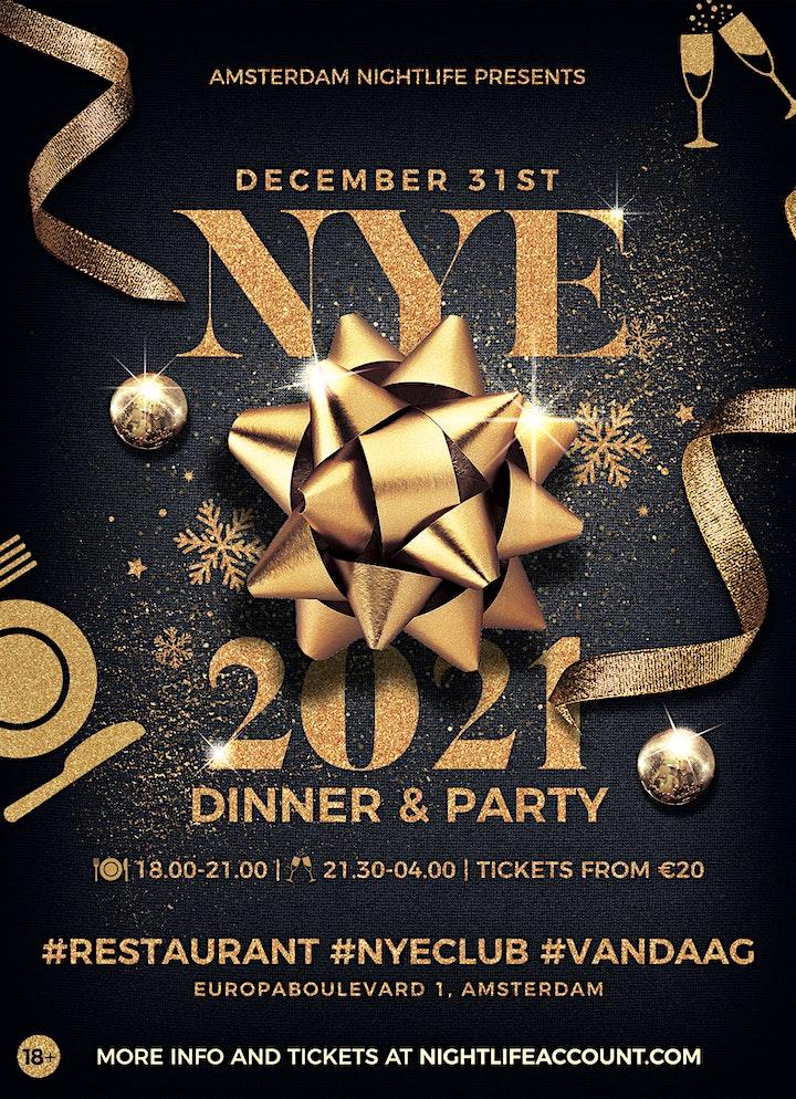Afbeelding van NYE Amsterdam Nightlife Dinner & Party 2021