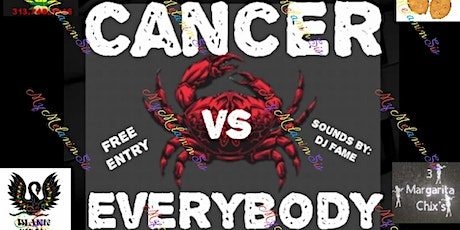 Cancer vs everybody pop up shop tickets