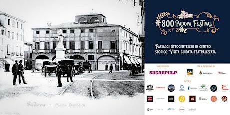 Passaggi ottocenteschi in centro storico. Visita guidata teatralizzata biglietti