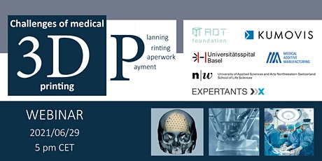 Challenges of medical 3D printing: Planning, printing, paperwork & payment tickets
