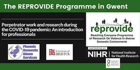 The REPROVIDE Perpetrator Programme in Gwent, South Wales tickets