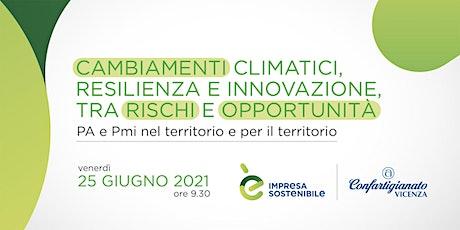 CAMBIAMENTI CLIMATICI Seminario - 25 giugno 2021 biglietti