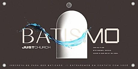 Batismo - Meeting ingressos