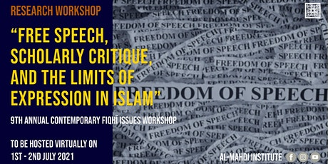 AMI Contemporary Fiqhi Issues Workshop 2021 tickets
