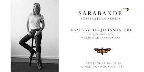 Inspiration Series   Sam Taylor Johnson OBE with Waldemar Januszczak tickets