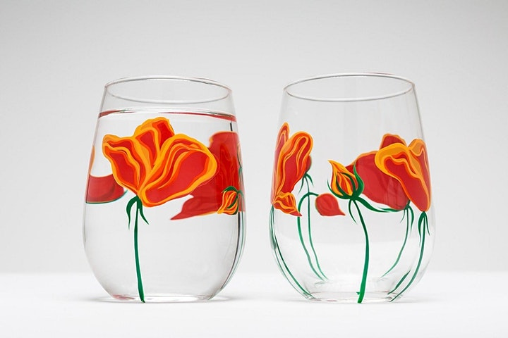 PAINT YOUR OWN WINE GLASSES WORKSHOP image