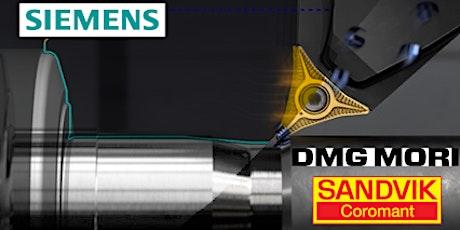 Siemens NX CAM Webinar Episode 4 - NX CAM Powering PrimeTurning™ tickets