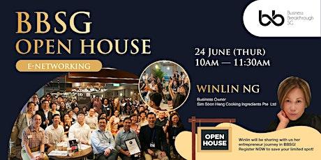 Business Social E-Networking cum BBSG Open House tickets