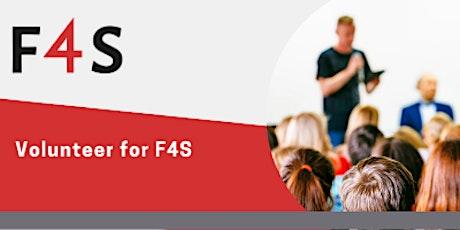 Volunteering for F4S tickets