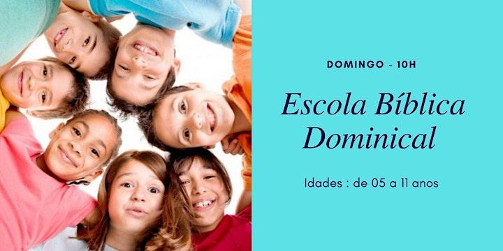 Imagem do evento EBD (crianças de 5 a 11 anos) - 20/06 - 10h