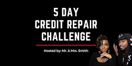 5 Day Credit Repair Challenge tickets