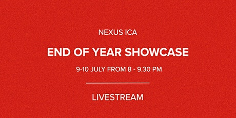 End of Year Showcase 2021 - Live Stream tickets