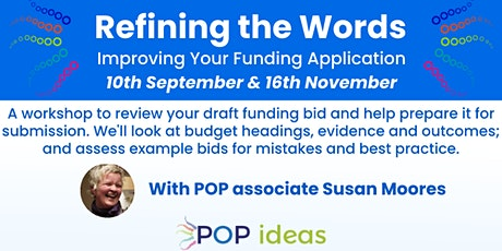 """""""Refining the Words""""- Improving Your Funding Application tickets"""