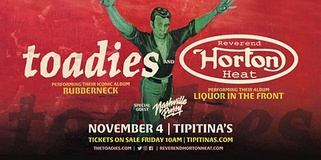 The Toadies & Reverend Horton Heat tickets