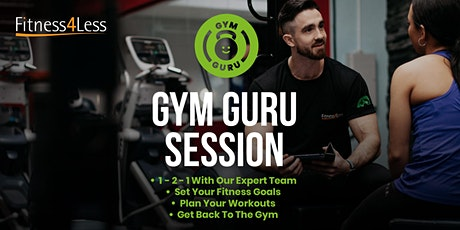 Gym Guru Session at Fitness4Less Southwark tickets