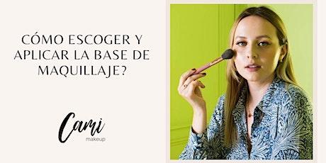 Cómo escoger y aplicar la base de maquillaje? tickets