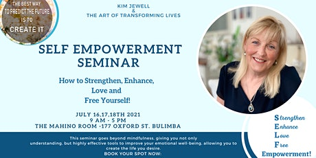 Self Empowerment -How to STrengthen, Enhance, Love and Free Yourself tickets