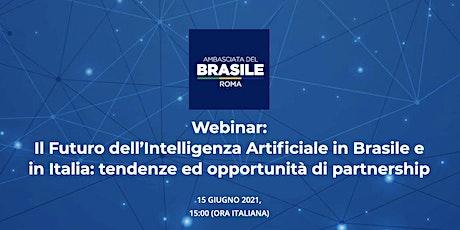 Webinar: Il Futuro dell'Intelligenza Artificiale in Brasile e in Italia biglietti