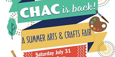 CHAC is BACK Arts & Crafts Fair tickets