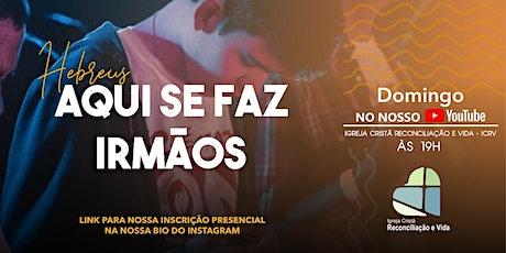 CELEBRAÇÃO DE DOMINGO - 13/06/21 ingressos